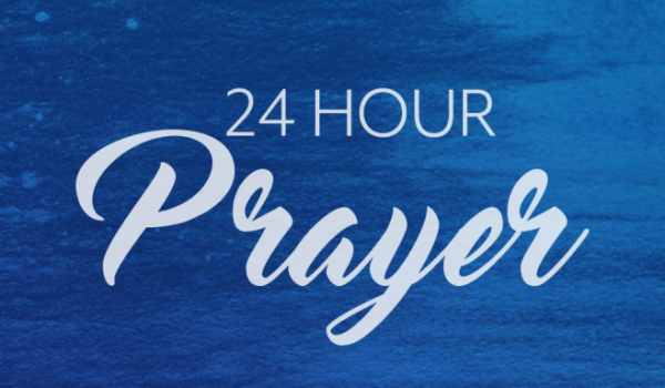24 Hour Prayer Oct 16-17 Contact Julie@bluewatermission.org